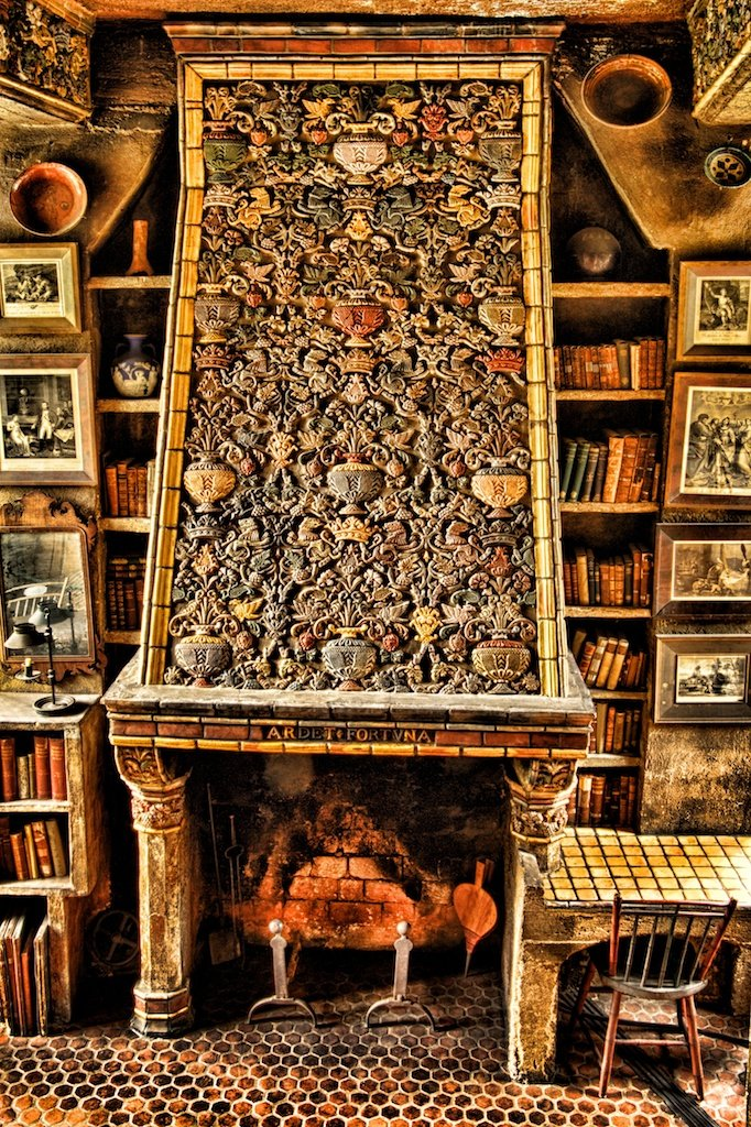 Morning Room Fireplace