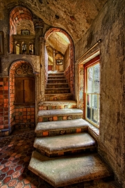 Stairs to Breakfast Room