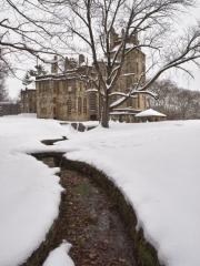 Fonthill Castle in Winter