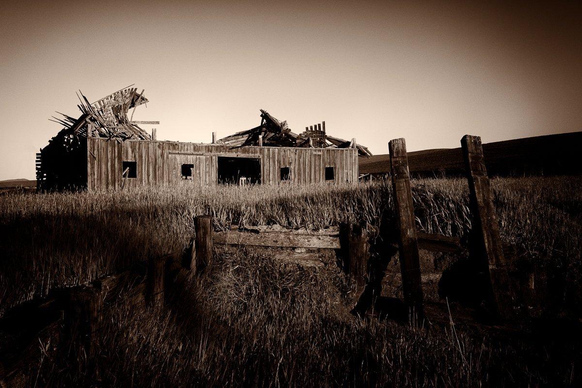 Collapsed-Barn