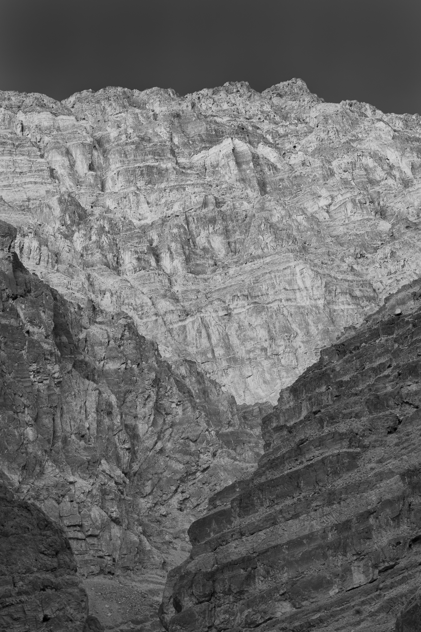 130321_Titus Canyon-BW by Karl Graf.
