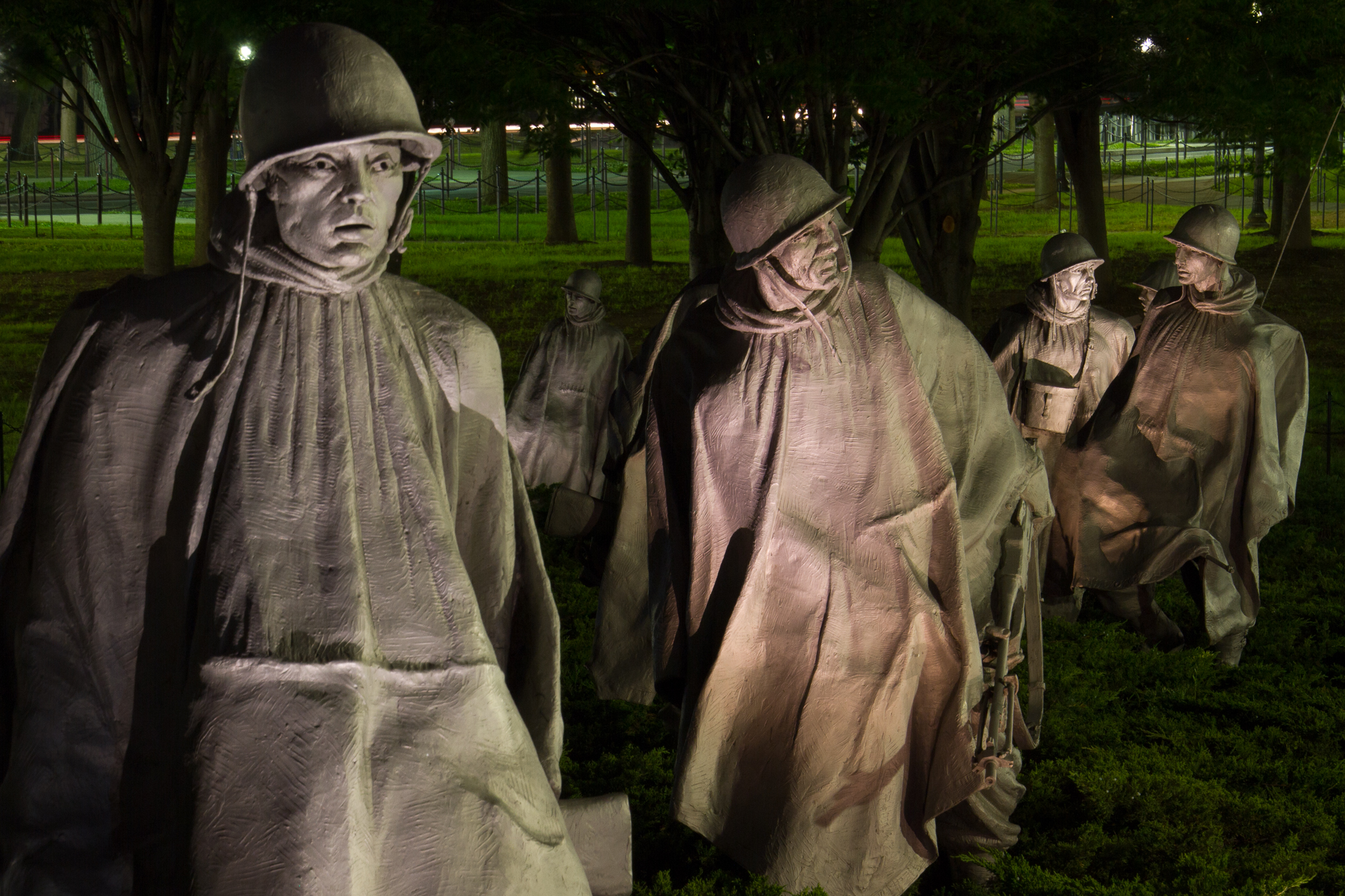 130613_Korean War Memorial by Karl G. Graf.
