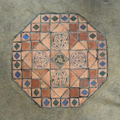Saloon Floor Tiles by Karl Graf.