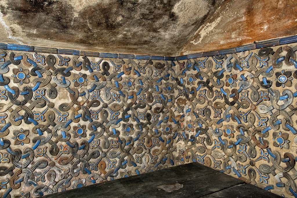 Smoking Room Wall Tiles by Karl Graf.
