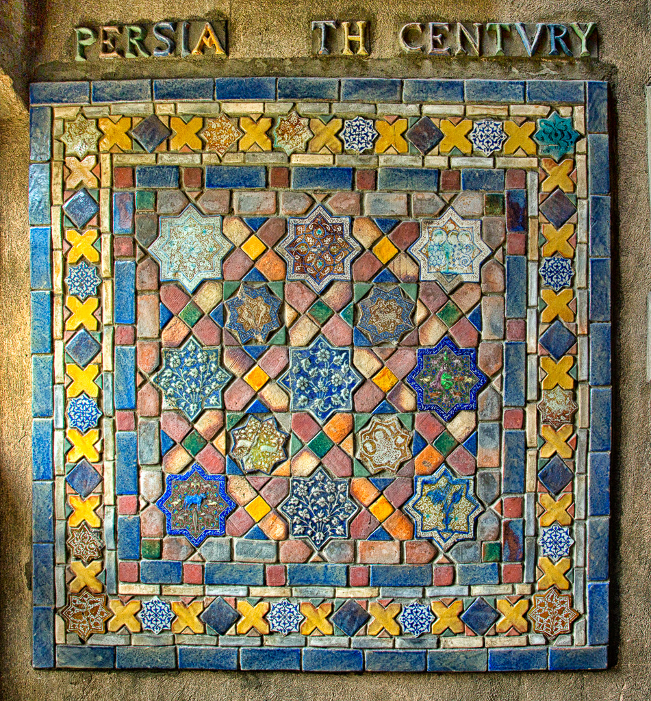 141130_Center Hall Persian Tile2-2 by Karl Graf.
