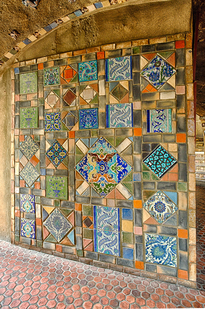 141201_Persian Tile Mosaic 2 by Karl Graf.