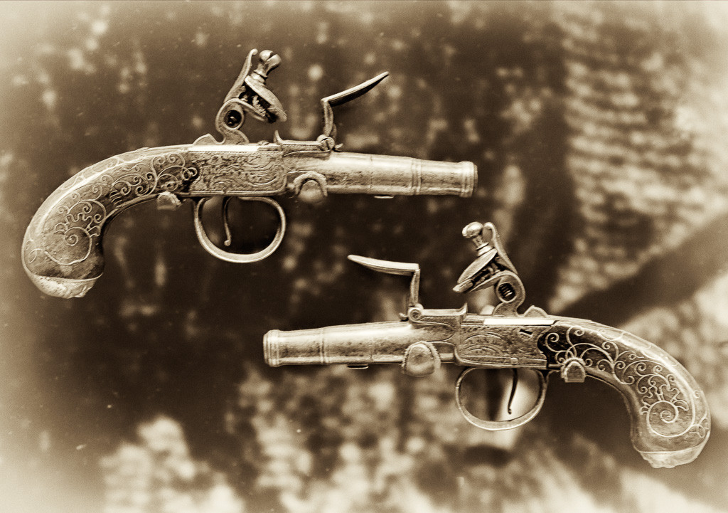 150106_Dueling Pistols by .